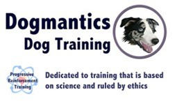 Dogmantics Dog Training logo